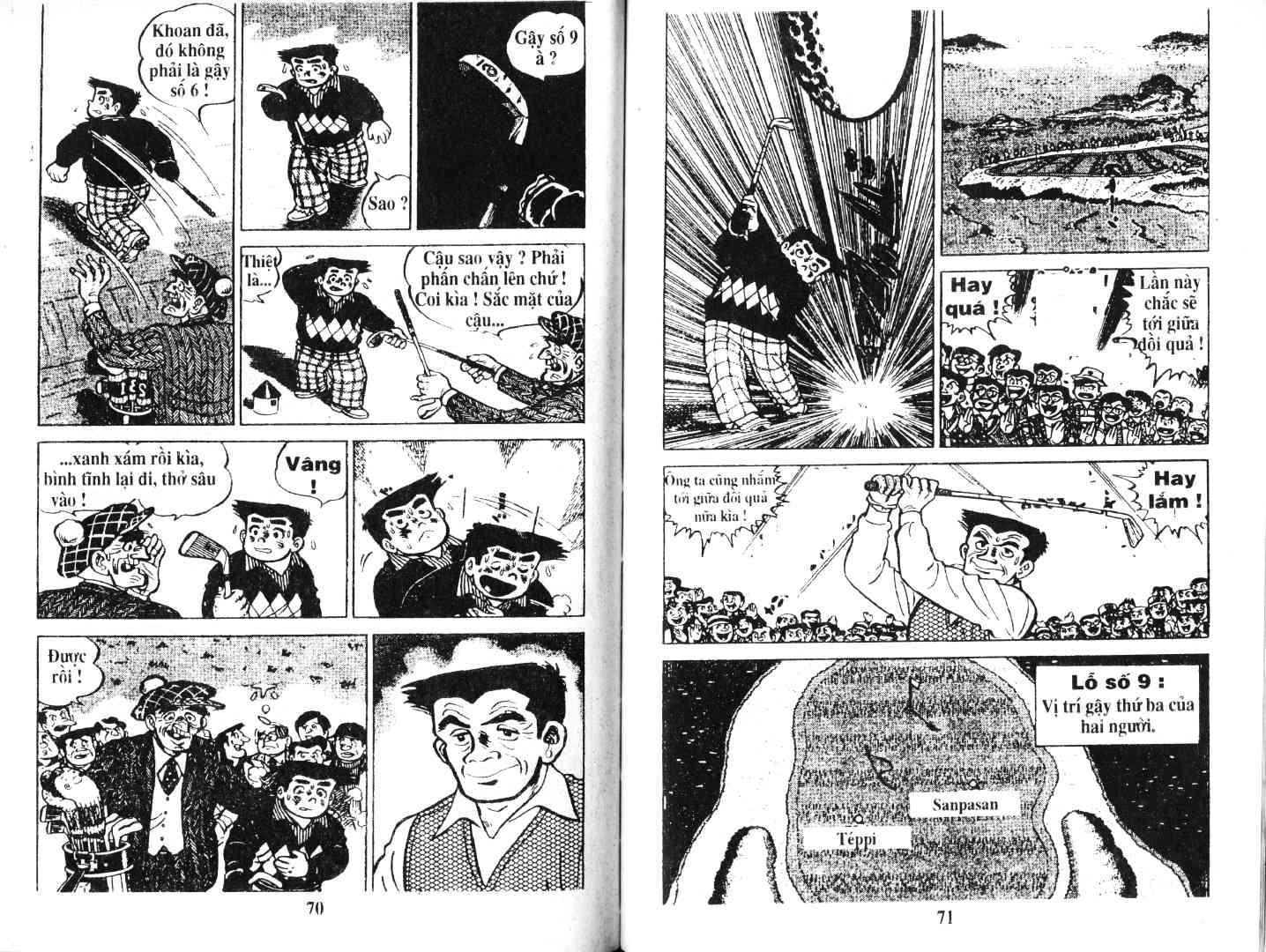 Ashita Tenki ni Naare chapter 51 trang 34