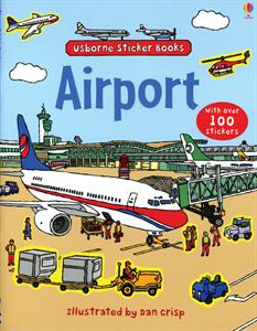 airport sticker book flying somewhere for spring break take along this sticker book for airport fun