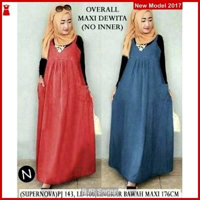 BJR018 Overall Maxi Dewita Wanita Dewasa Murah Grosir