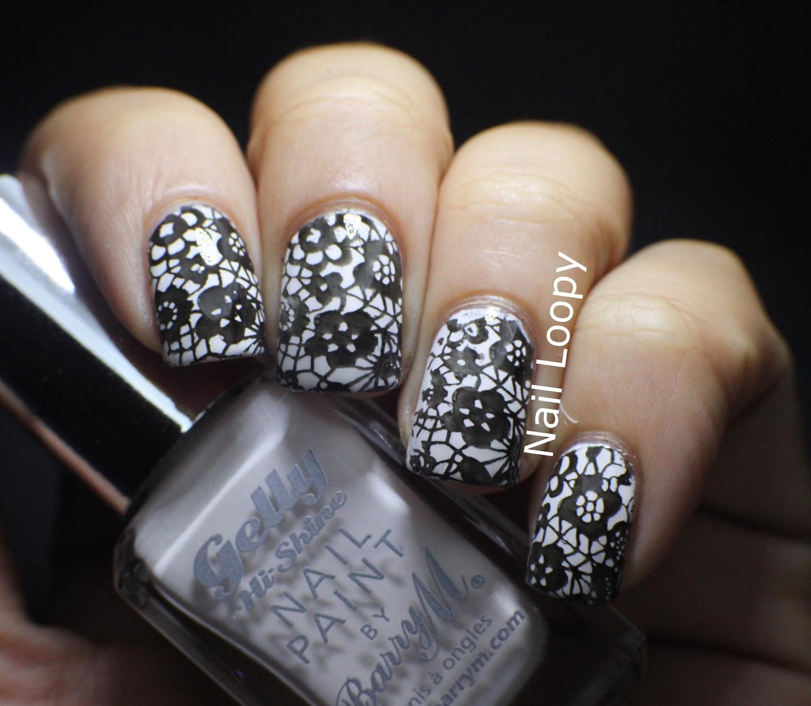 Lace nail designs!
