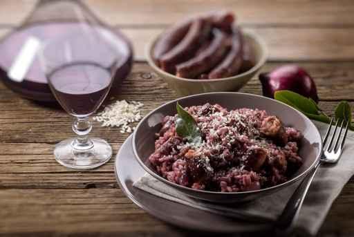 Cocinando con vino