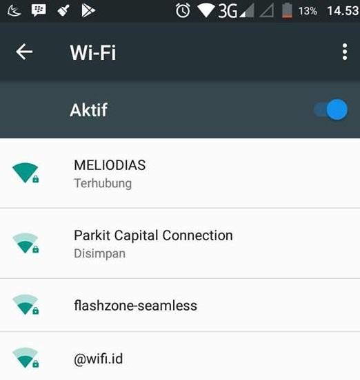 Cara Mengetahui Password Wifi di HP Tanpa Aplikasi/Root 2018