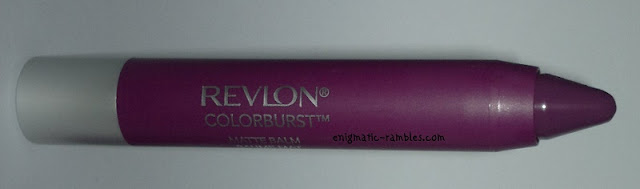 Review-swatch-Revlon-Colorburst-Matte-Balm-Shameless-215