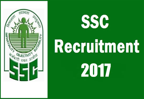 Recruitment of Combined Higher Secondary Level (10+2) Examination, 2017