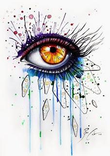 cuadros-con-ojos-de-mujeres-creatividad-artistica ojos-pinturas-coloridas