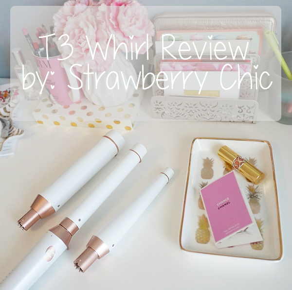 T3, curling iron, best, curling iron, wand, review, Sephora, Strawberry Chic