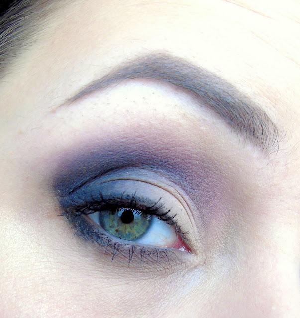 Szybki dzienny makijaż nową paletką My Secret - Dark Side