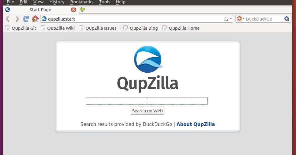 Install Latest QupZilla on Ubuntu / Linux Mint / Fedora