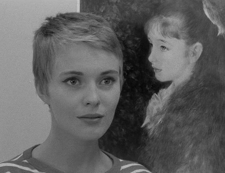 As Played By Jean Seberg Who Was Born And Grew Up In Iowa Patricia Is Very Much A Us Midwestern Girl In Fact Sebergs Midwestern Accent Calls Attention
