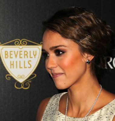 Celebrity Jessica Alba Hairstyles