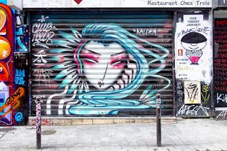 Sunday Street Art : Kaldea - rue Dénoyez - Paris 20