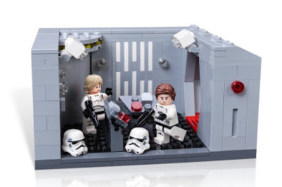 Star Wars Celebration 2017 Exclusive Death Star Detention Block Rescue LEGO Set