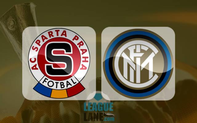 Sparta Prague vs Inter Milan ... Live HD