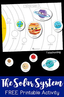 Space Nonstandard Measurement Activity | Totschooling ...