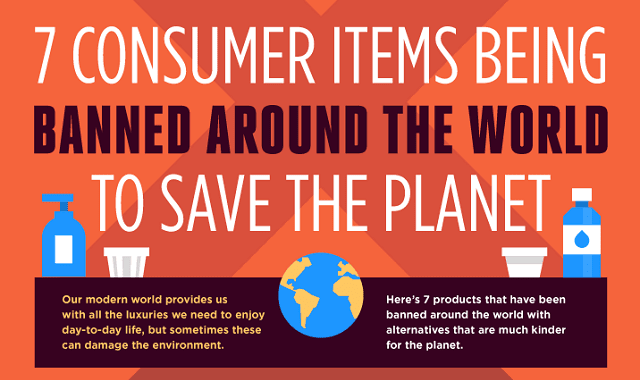 7 Consumer Items Being Banned Around the World to Save the Planet