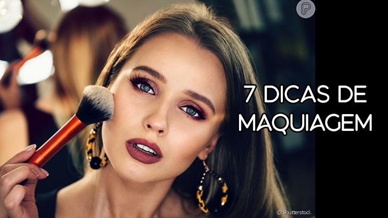 7 dicas de maquiagem para ficar fabulosa