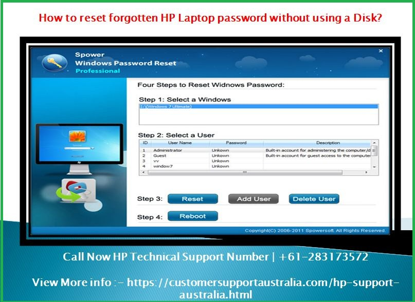 how to reset your hp laptop without disk