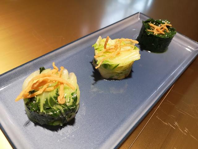 Stir-Fried Three Treasure Vegetables with Crispy Golden Mushrooms