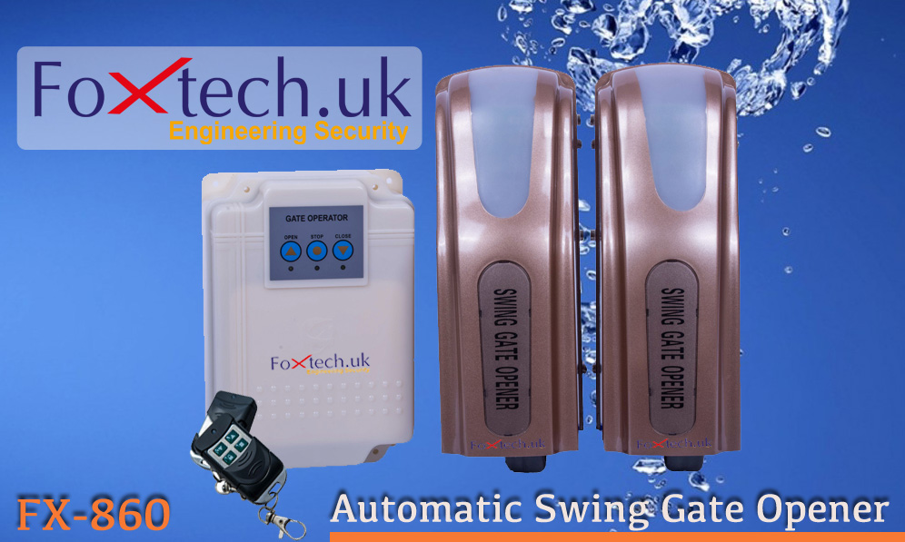 Foxtech India Swing Gate Operator With Roller Type Swing