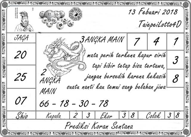 Prediksi Taipei Lotto4D