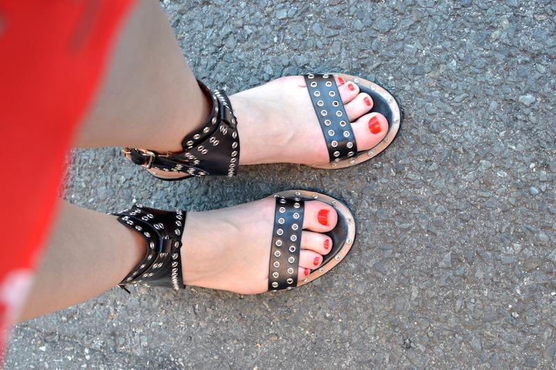 sandale style IM de chez Shein