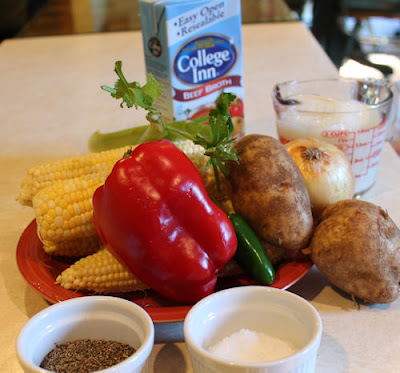 Corn Chowder Ingredients