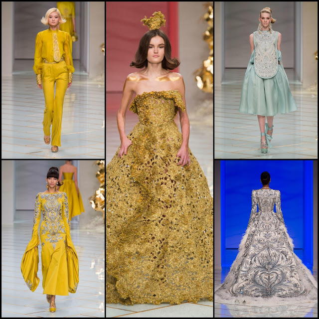 RUNWAY REPORT.....Paris Haute Couture Fashion Week GUO PEI Haute Couture Spring/Summer 2016: Pics + Video