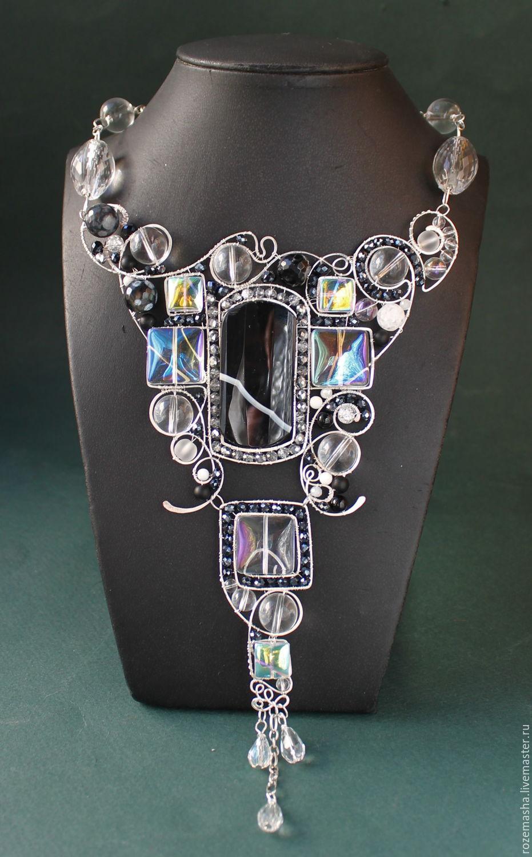 Statement Wire Wrapped Gemstone Jewelry by Rozemasha - The Beading ...