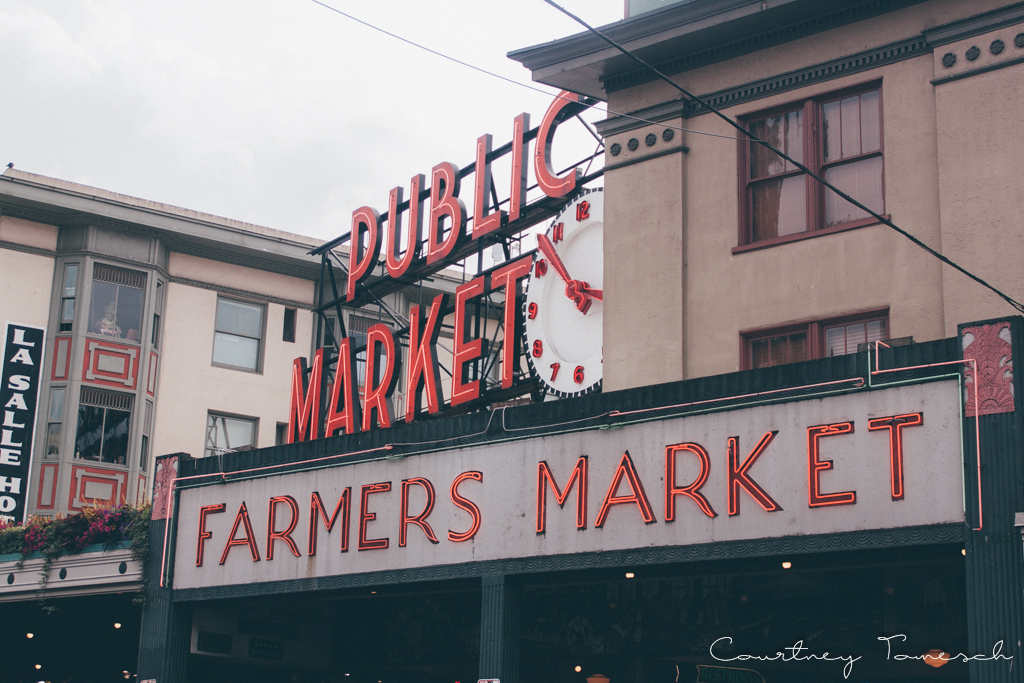 Courtney Tomesch Seattle Washington Pike Place Market