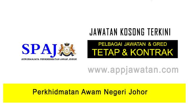Jawatan Kosong di Perkhidmatan Awam Negeri Johor