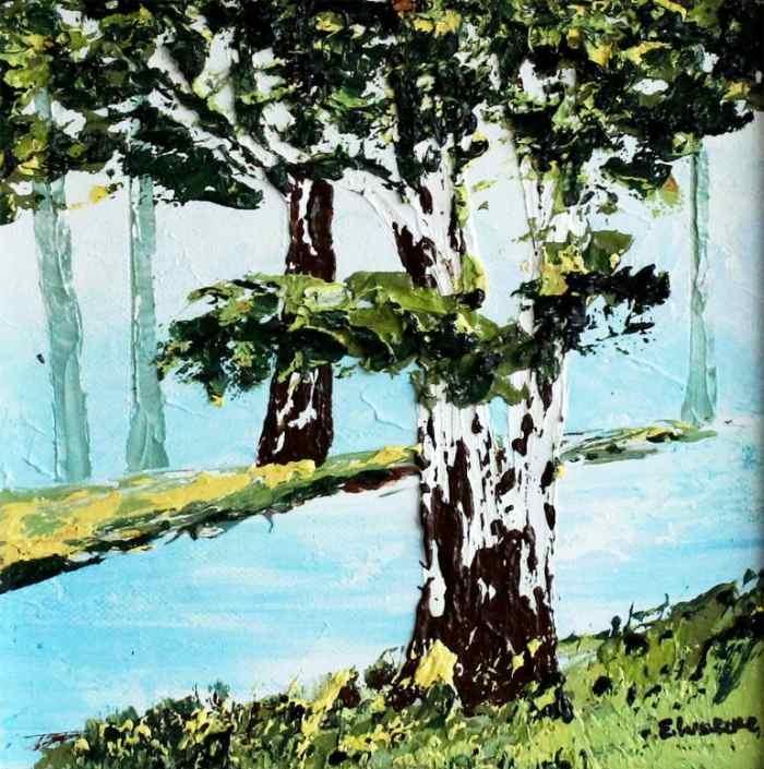 Пейзаж - мое вдохновение. Eileen Lunecke 2