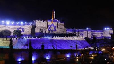 Comenzando la semana la ciudad santa de Jerusalén, se viste de gala y esta más bella que nunca.
