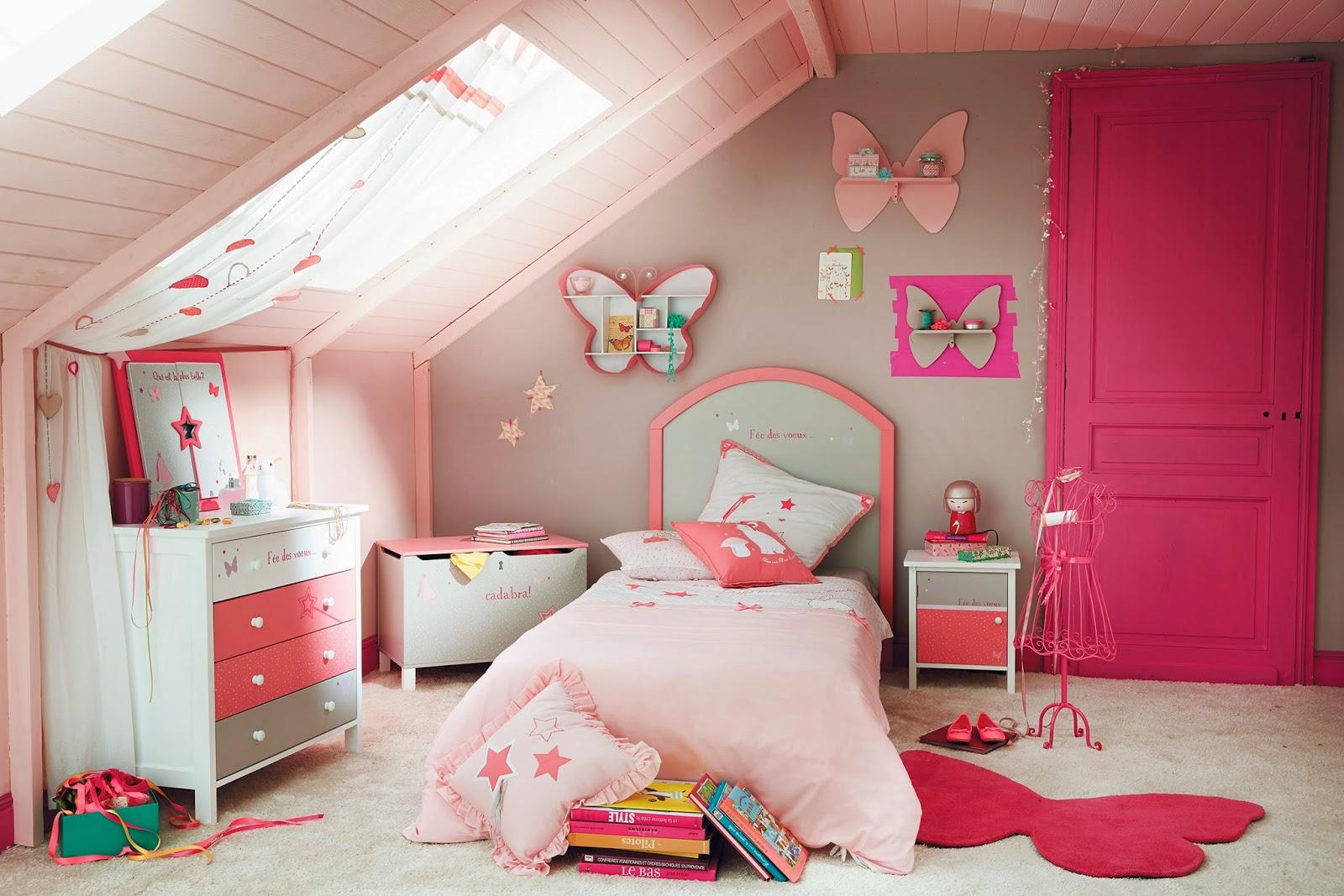 Stunning Chambre Petite Fille Maison Du Monde Ideas - House Design ...
