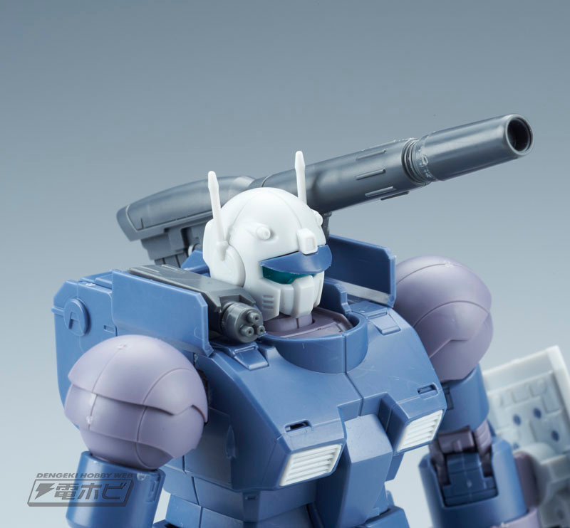 HG 1/144 Guncannon Early Type (Iron Cavalry Squadron) Sample Images by Dengeki Hobby