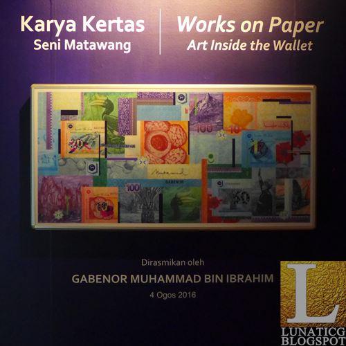 Malaysian banknotes art