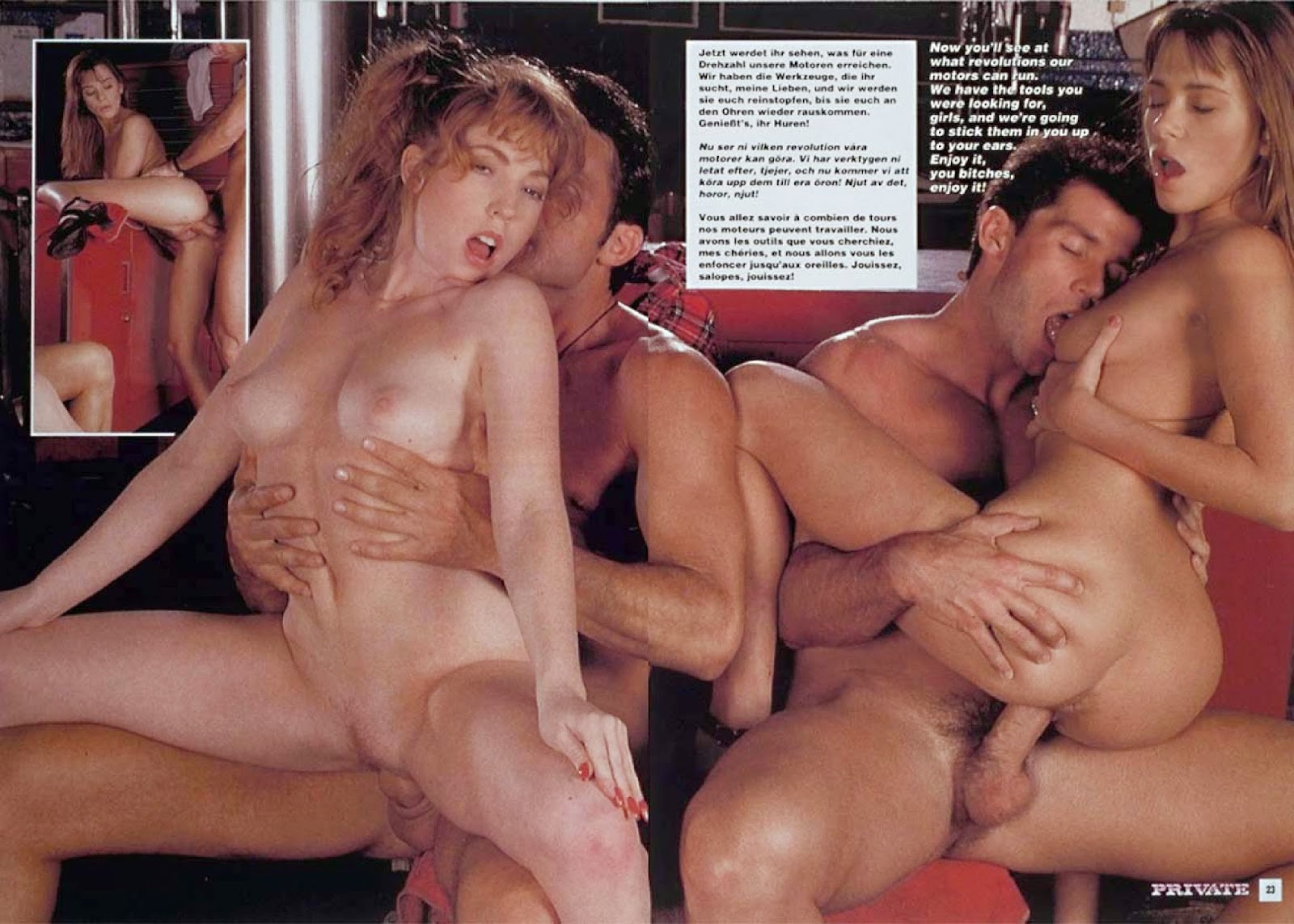 Have thought privat gangbang video