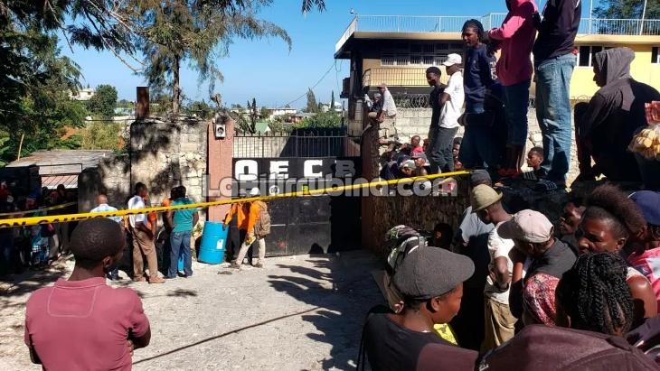 Unos 15 niños mueren durante incendio en orfanato de Haití