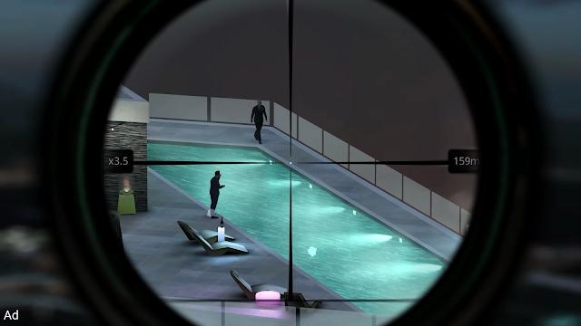 تحميل لعبة القنص hitman sniper للأندرويد مجانا apk + OBB