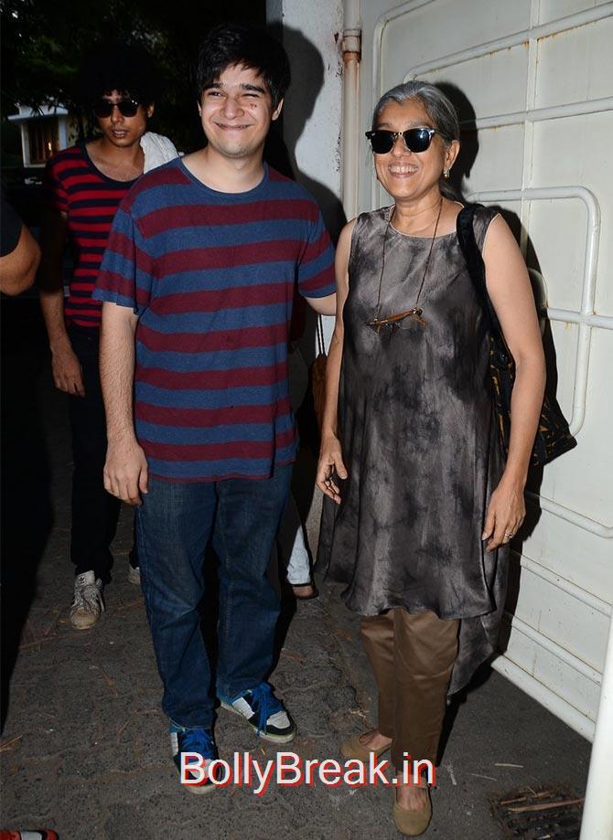 Vivaan,  Imaad Shah., Anushka Sharma Hot Pics At Bombay Velvet screening