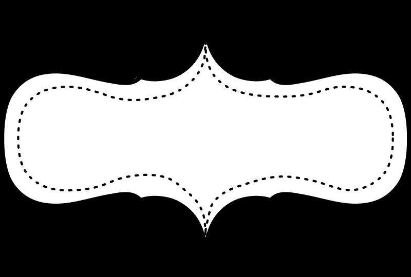 Marcos en blanco y negro para imprimir gratis oh my for Logos para editar