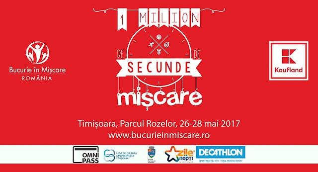 Bucurie în Mișcare la Timișoara (26-28 mai 2017)