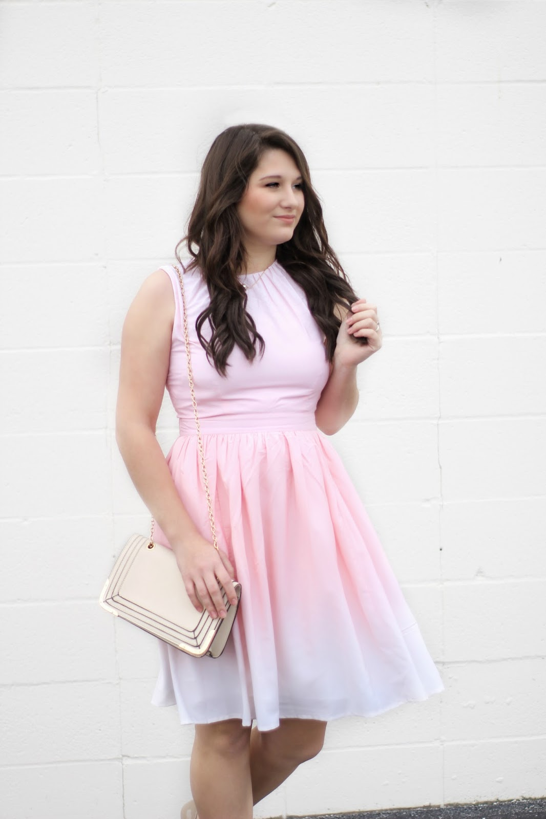 Perfect Pink Party Dress - Like Honey