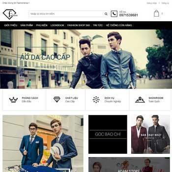 template blogspot bán hàng thời trang chuẩn responsive