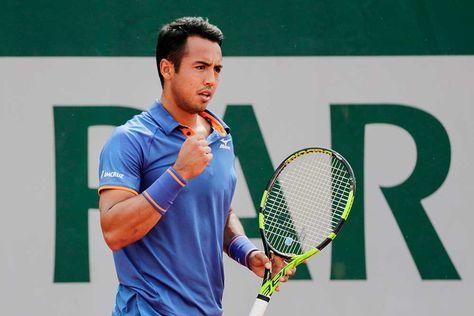 Gunneswaran es el rival de Dellien en Roland Garros