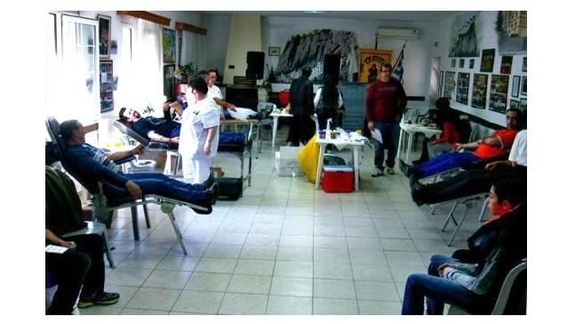 124 εθελοντές αιμοδότησαν στην τράπεζα των «Ακριτών»