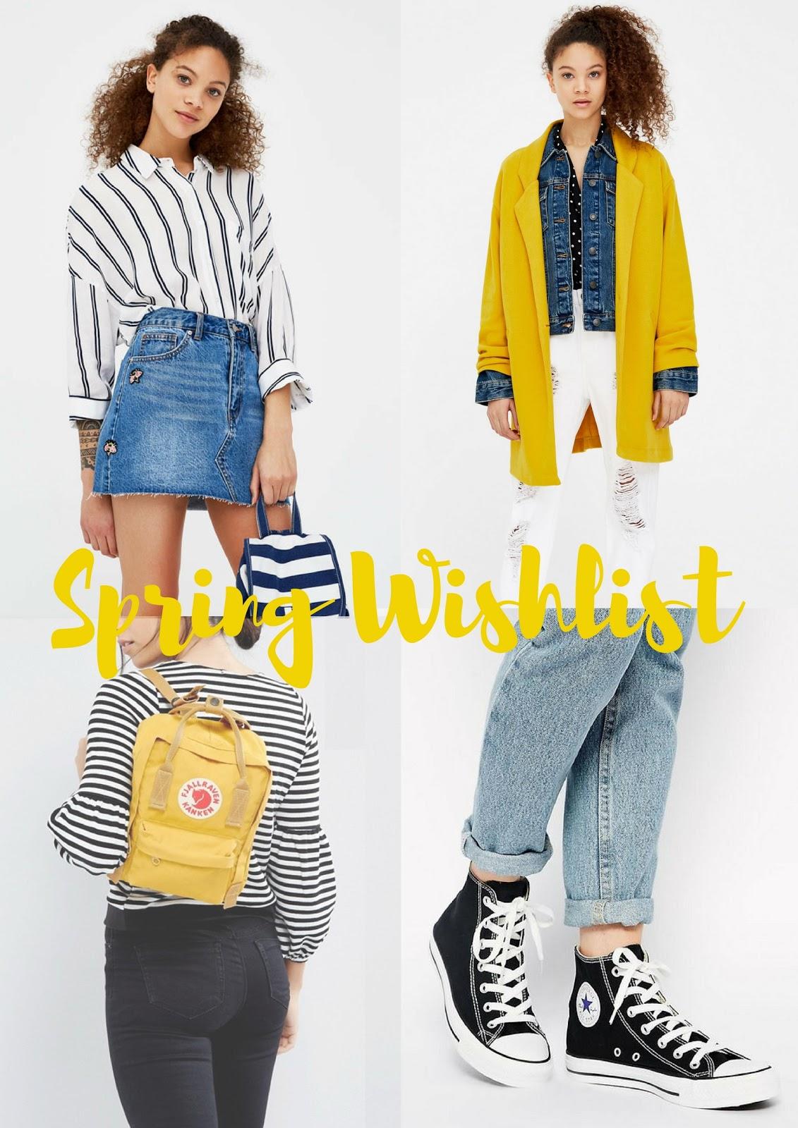 francisca rockey, lifestyle blogger, fitness blogger, beauty blogger, small blogger, spring, spring wishlist
