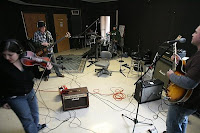 Band in the studio image from Bobby Owsinski's Big Picture blog