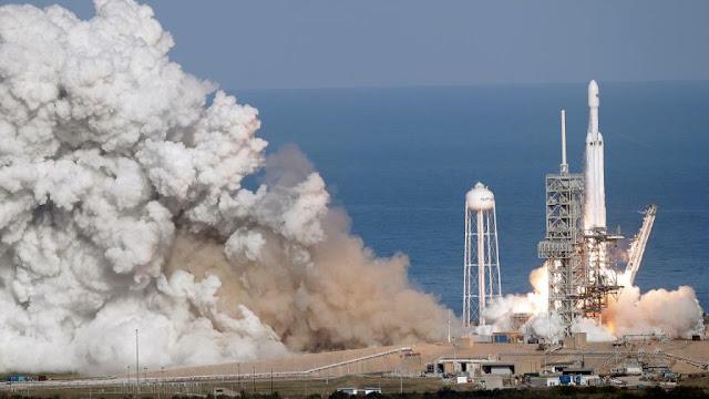 Eu não podia acreditar o quão perfeito foi o lançamento do Falcon Heavy.