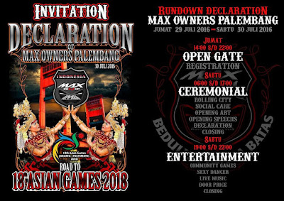 TMO Goes to Declaration Of Max Owners Palembang