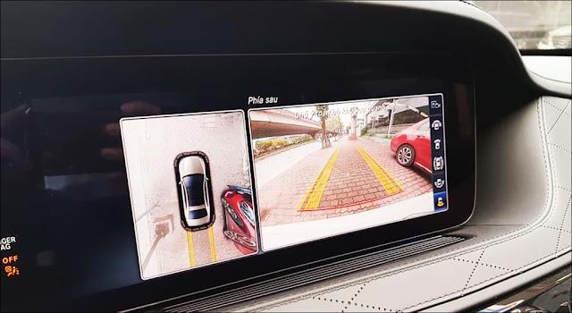 Màn hình trung tâm xe Mercedes S450 L Luxury 2019 hiện thị rõ ràng và sắc nét
